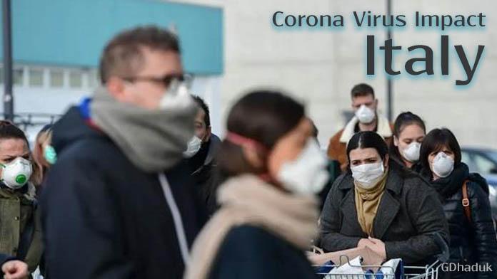 corona virus impact Italy